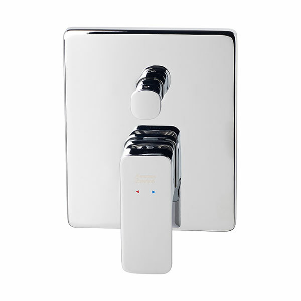 Cygnet Shower Mixer with Diverter Front of Wall Trim Set Only
