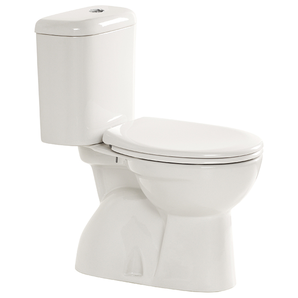 Heron Close Coupled Round Toilet 2 image1
