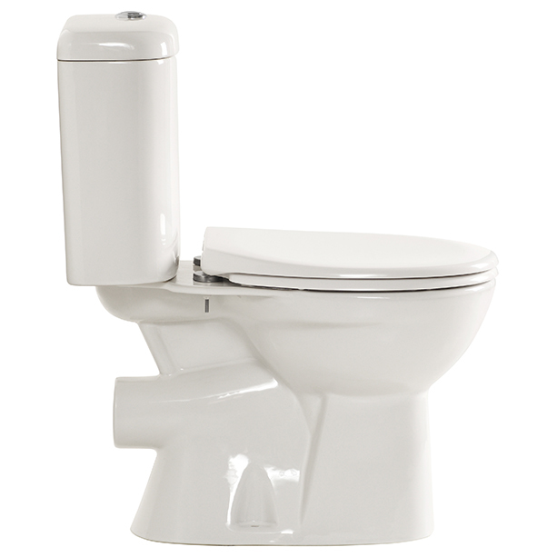Heron Close Coupled Round Toilet image3