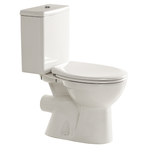 Studio Square Close Coupled Toilet Suite (P Trap)