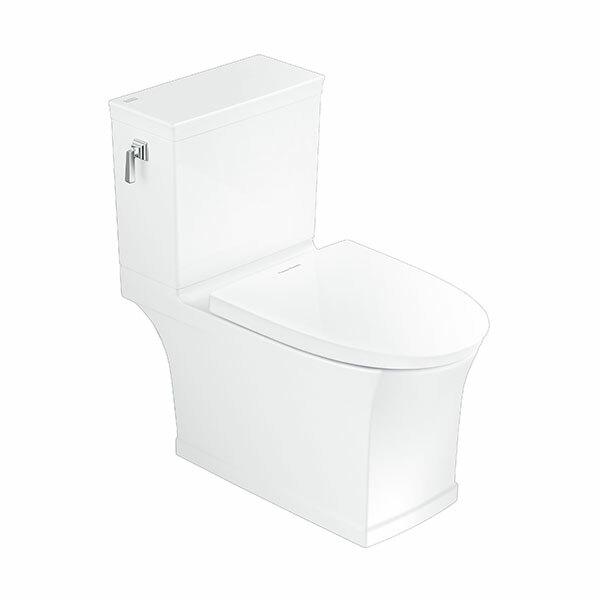 KASTELLO Close Coupled Toilet, P-trap (3/4.5L)