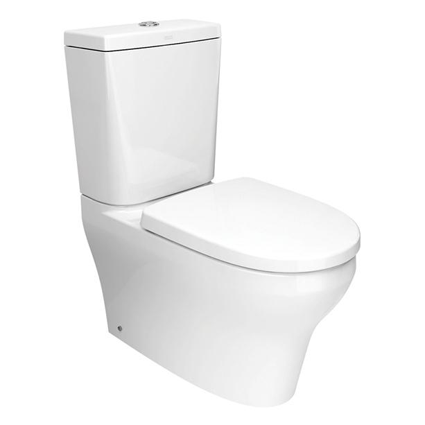 Cygnet Close Coupled Square Toilet