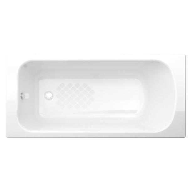 Milano 1 5 M Cast Iron Drop in Tub image2