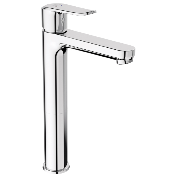 Neo Modern Extended Basin Mixer with Pop up Drain image