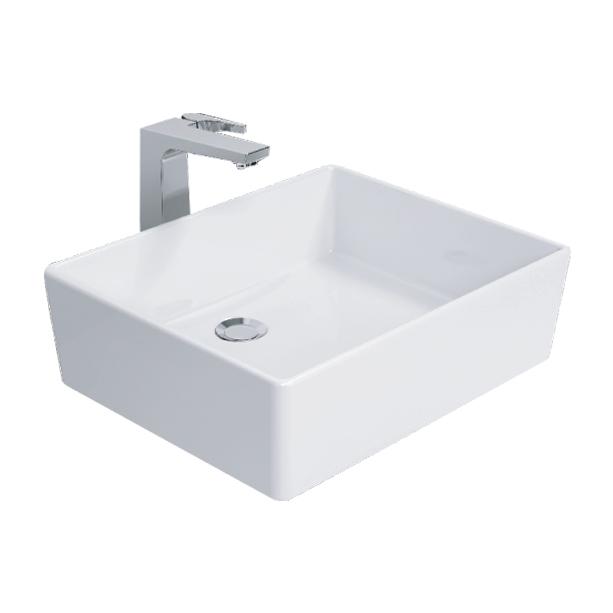 Square Thin 500mm Vessel Wash Basin image2