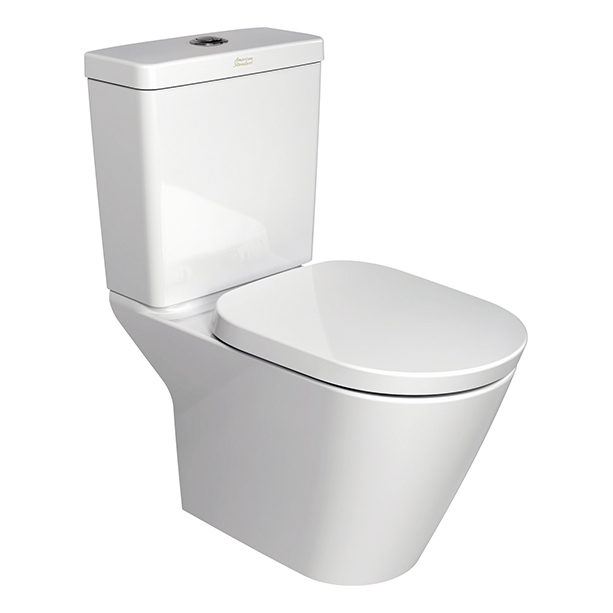 Tonic New Wave Close Coupled Toilet with Integrated P-Trap