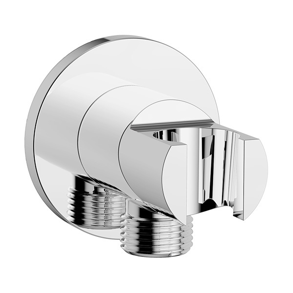 """Wall Outlet with Holder- Round (G1/2"""")"""