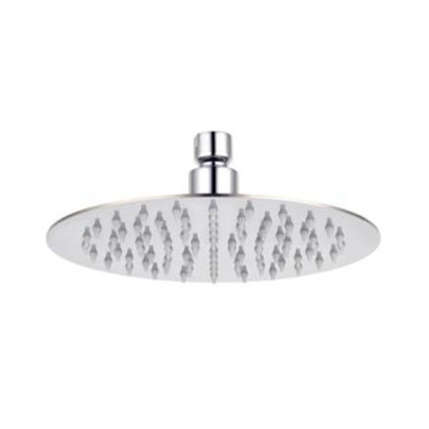 """10"""" Round Stainless Steel Airnegize Rain Shower Head (tanpa Shower Arm)"""