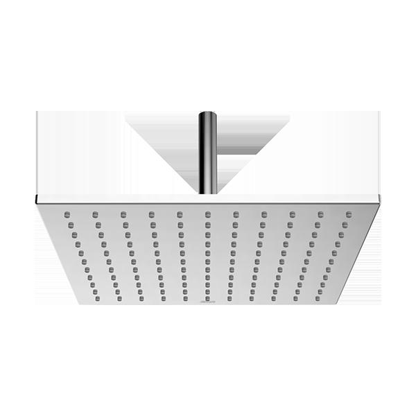 200x200mm Square Brass Airnegize Rain Shower Head (tanpa Shower Arm)