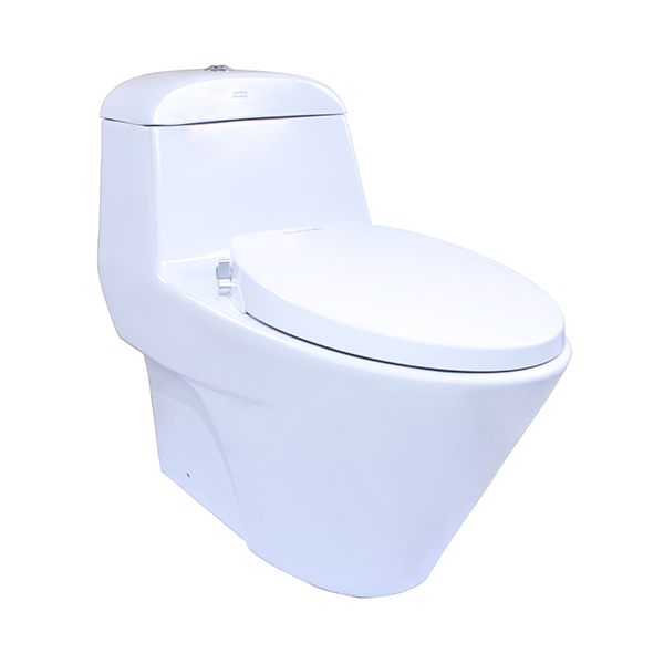 Active One-Piece Toilet with Razor Smart Washer