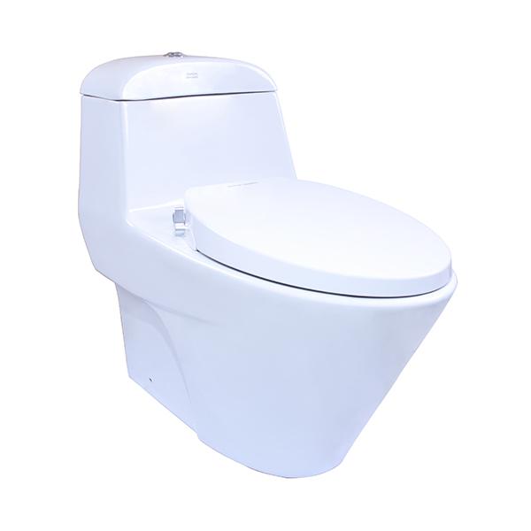 Active One-Piece Toilet dengan Razor Smart Washer