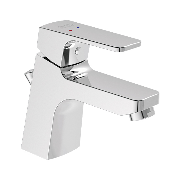 Concept Square Basin Mixer with Pop-up Drain