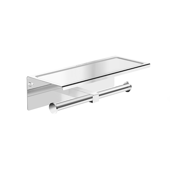 Concept Square Double Tissue Holders with Shelf