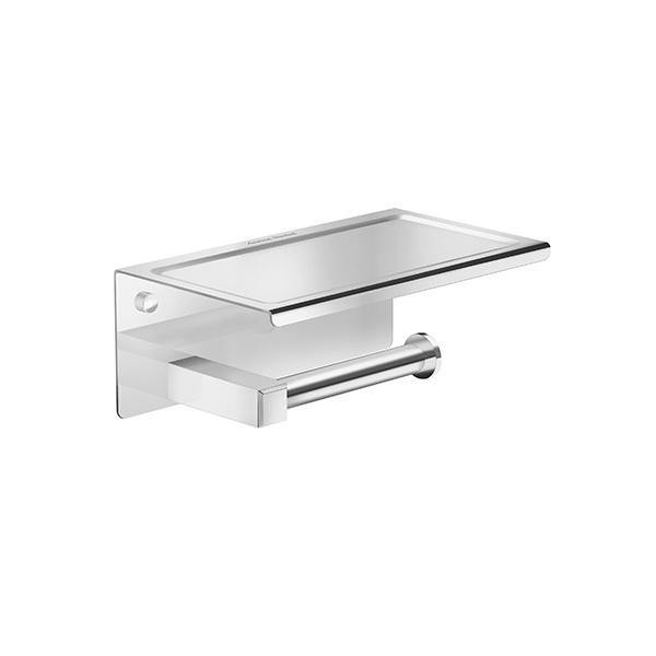 Concept Square Single Tissue Holder w Shelf FA