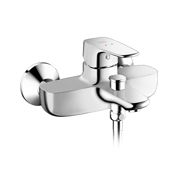 Signature Keran Bath & Shower Mixer Ekspose tanpa Handspray