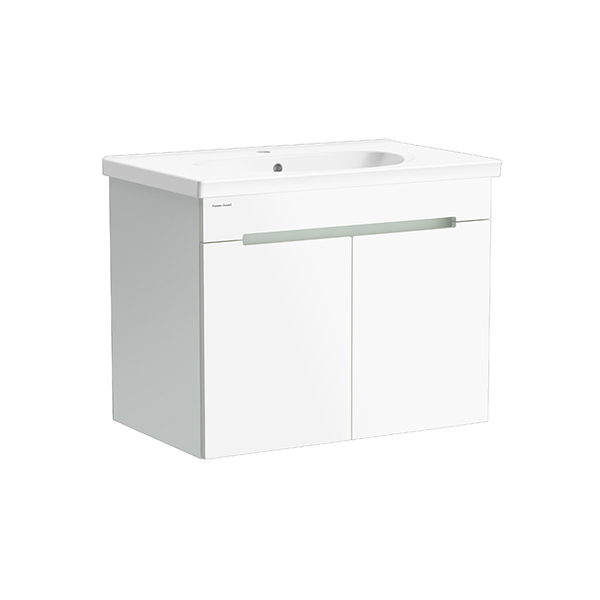 Modern Edge WH 800mm 2 door vanity (Silver Lining,one hole)