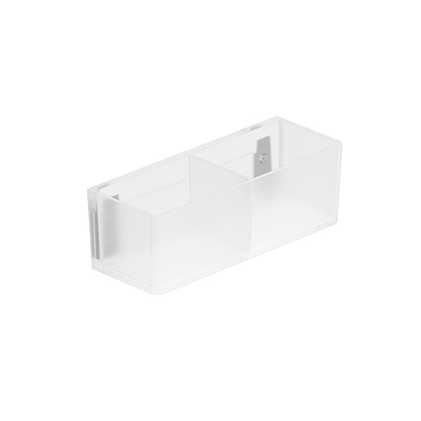 Door mounted storage box 200