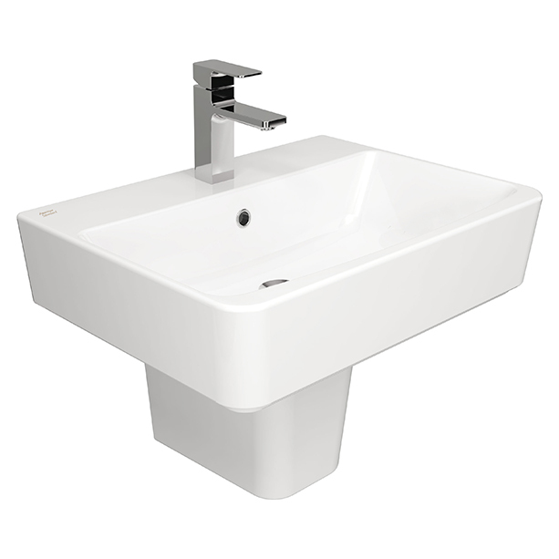Acacia Evolution Semi Pedestal Wash Basin