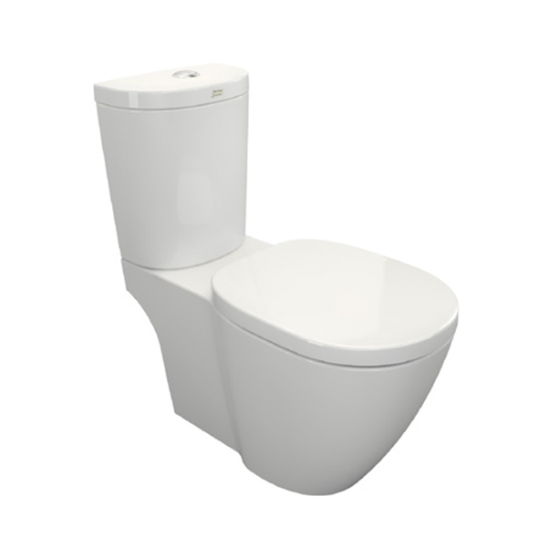 Concept D-shape Close Coupled Toilet