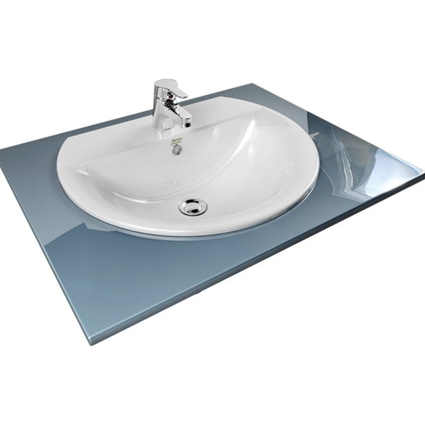 Concept Round 550mm Countertop Wash Basin 2 image2