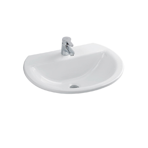 Concept Round 550mm Countertop Wash Basin 2