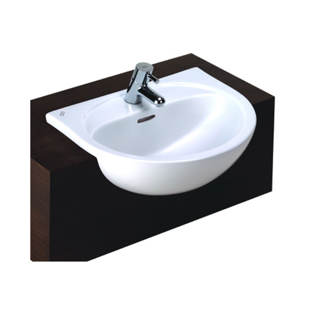 Paramount Semi-Recessed Wash Basin