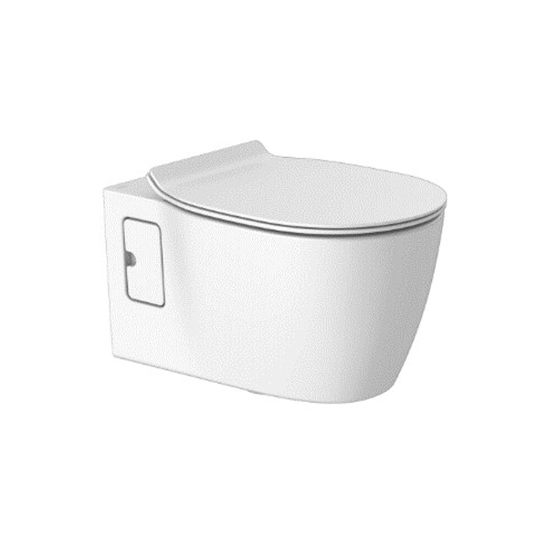 Concept 3/4.5lpf Wall Hung Toilet_bowl + Seat Cover