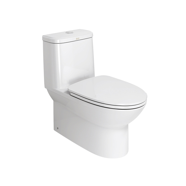 Neo Modern One Piece Toilet Bowl + Seat Cover