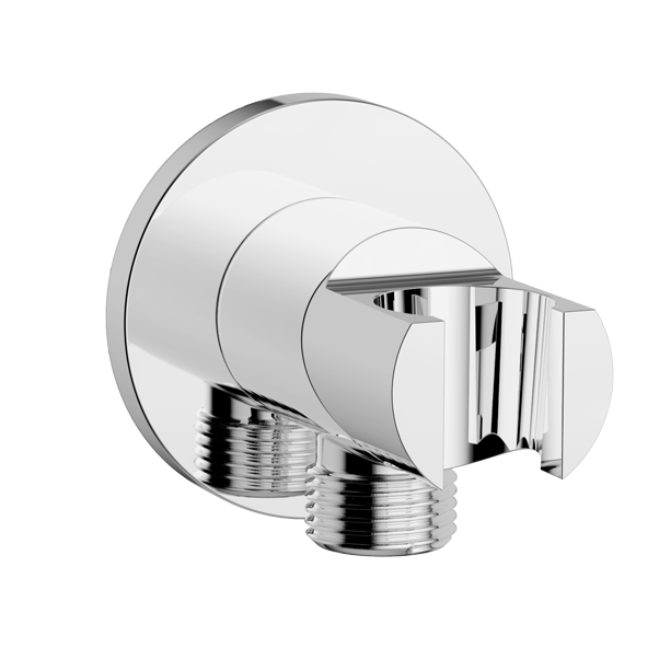 Wall Outlet with Holder- Round (G1/2″)