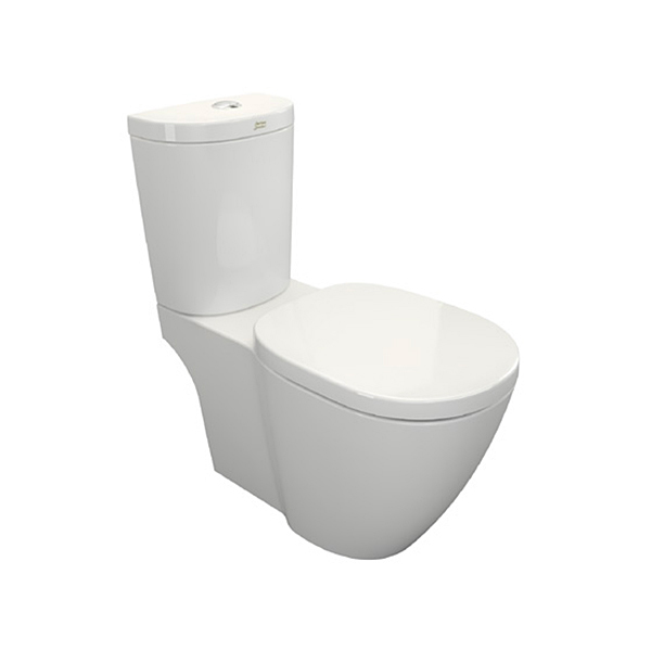 Concept D Shaped Closed Coupled Toilet