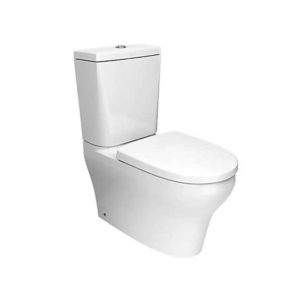 Cygnet Square Close Coupled Toilet