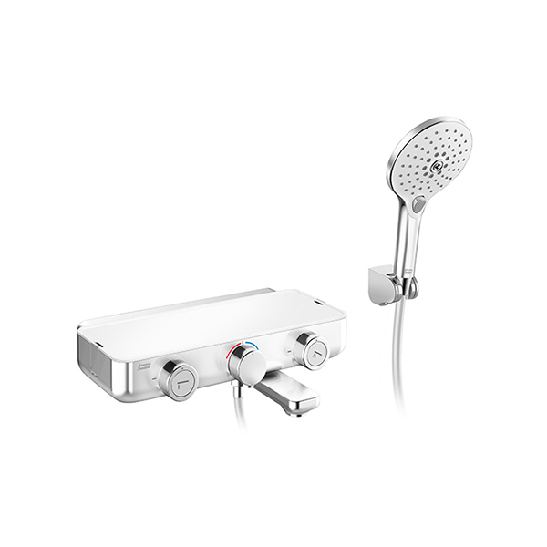 EasySET Exposed Bath & Shower Auto Temperature Mixer With Shower Kit