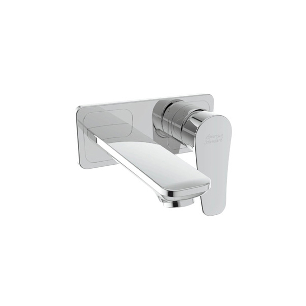 Milano In Wall Basin Mixer With Pop-up Drain