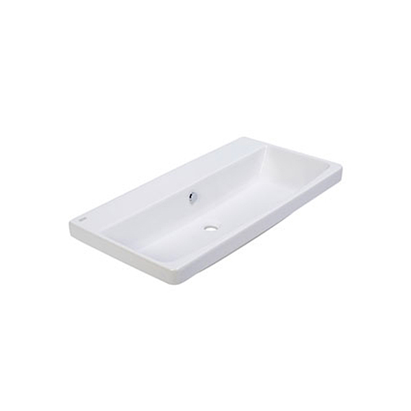 Fecility Double Countertop Lava - With single hole