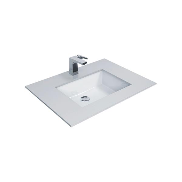 Flexio Thin Touch Square 500Mm Undercounter Wash Basin