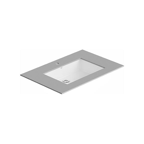 Flexio Thin Touch Square 600Mm Undercounter Wash Basin