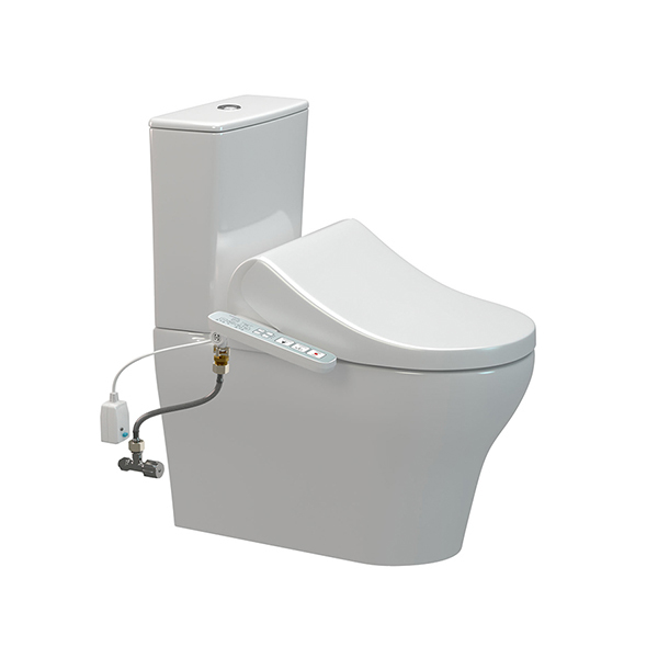 Cygnet HygieneRim with SpaLet E-Bidet Back Inlet Toilet Suite