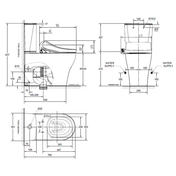 12994 10 line drawing