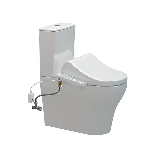 Cygnet HygieneRim Overheight with SpaLet E-Bidet Back Inlet Toilet Suite