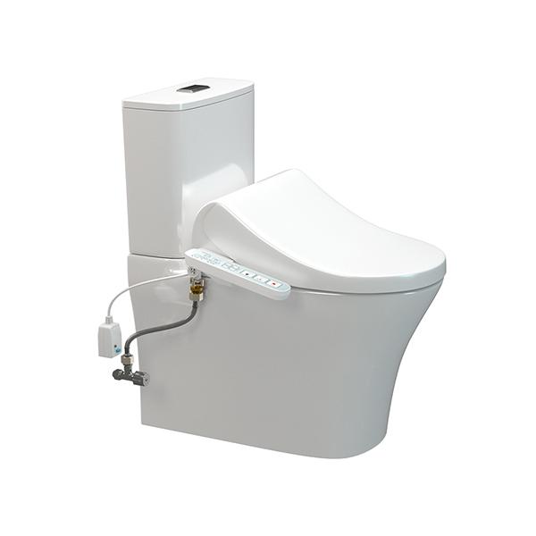 Signature HygieneRim with SpaLet E-Bidet Bottom Inlet Toilet Suite