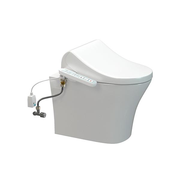 Signature HygieneRim BTW Pan with SpaLet E-Bidet