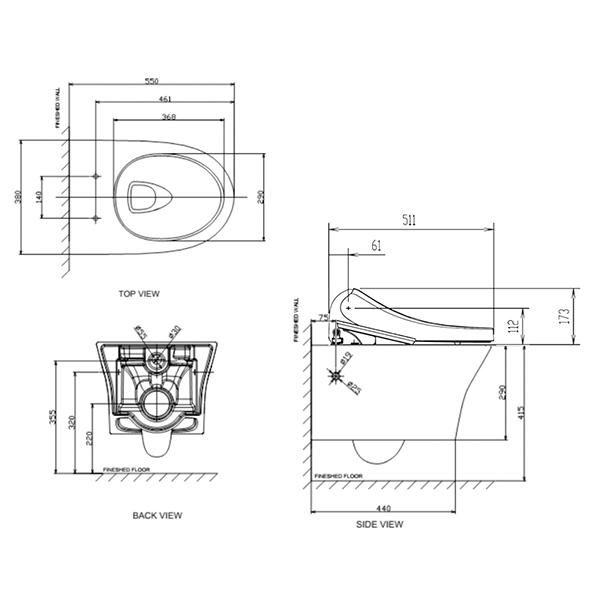 15057 10 line drawings