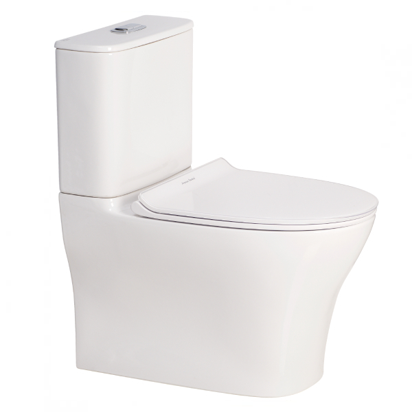 Signature Hygiene Rim Close Coupled Back to Wall Back Inlet Toilet Suite