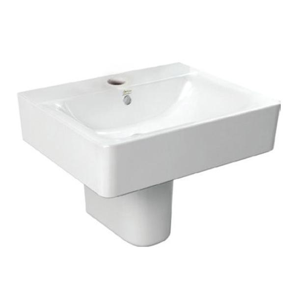 Concept Cube 550mm Semi-Pedestal Basin