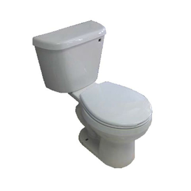 Galaxy II 6LPF FL Close Coupled Round Front Toilet