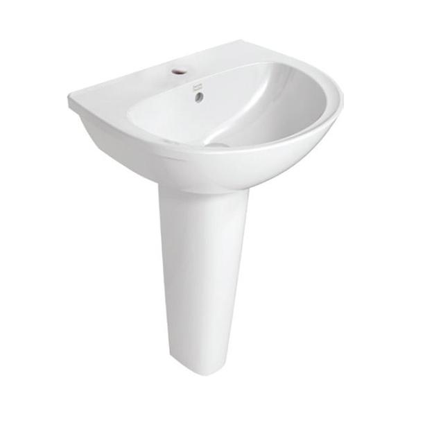 Neo Modern 550mm Full Pedestal Basin