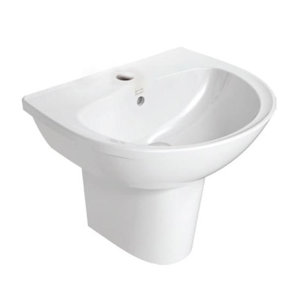 Neo Modern 550mm Semi-Pedestal Basin
