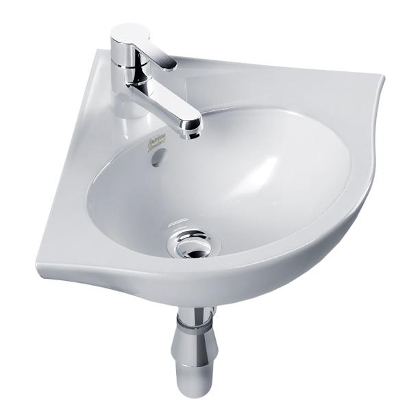 New Codie Wall Hung Corner Wash Basin