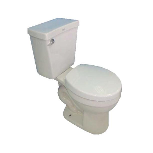 Simplicity 6LPF FL Close Coupled Round Front Toilet
