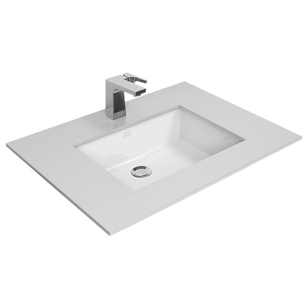 Square Thin 500mm Undercounter Wash Basin image